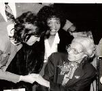 Katrina with late Mrs. Rosa Parks
